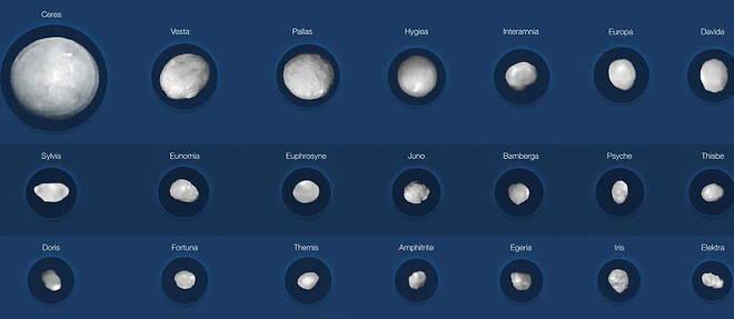 Photo of 42 fotos para desentrañar los misterios de los asteroides