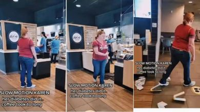 Photo of Mujer destroza el establecimiento de McDonald's enojada porque su 'pedido tomó demasiado tiempo'